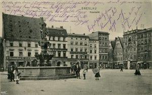 Fontanna Neptuna na placu Nowy Targ