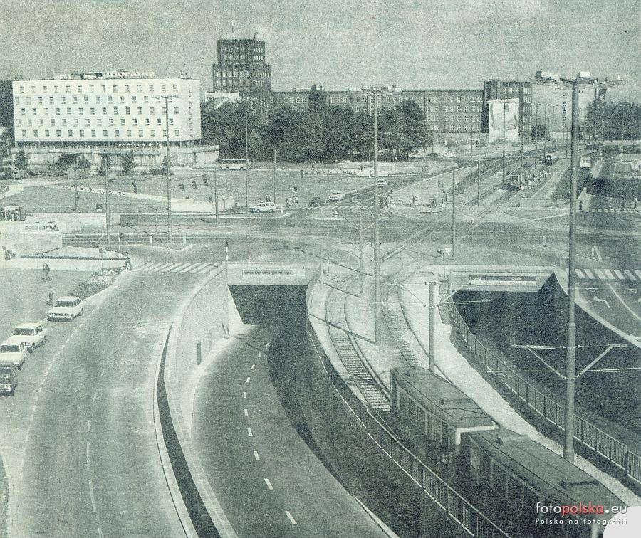 Plac Dzierżyńskiego.