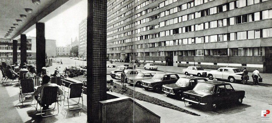 Mrówkowiec w 1972 roku.