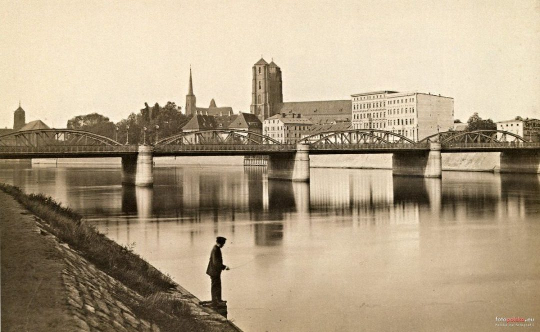 1885 rok, Most Lessinga około 16 lat po wybudowaniu.
