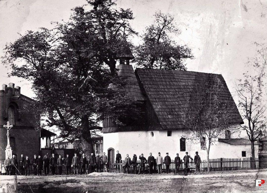 Kędzierzyn w roku 1895.