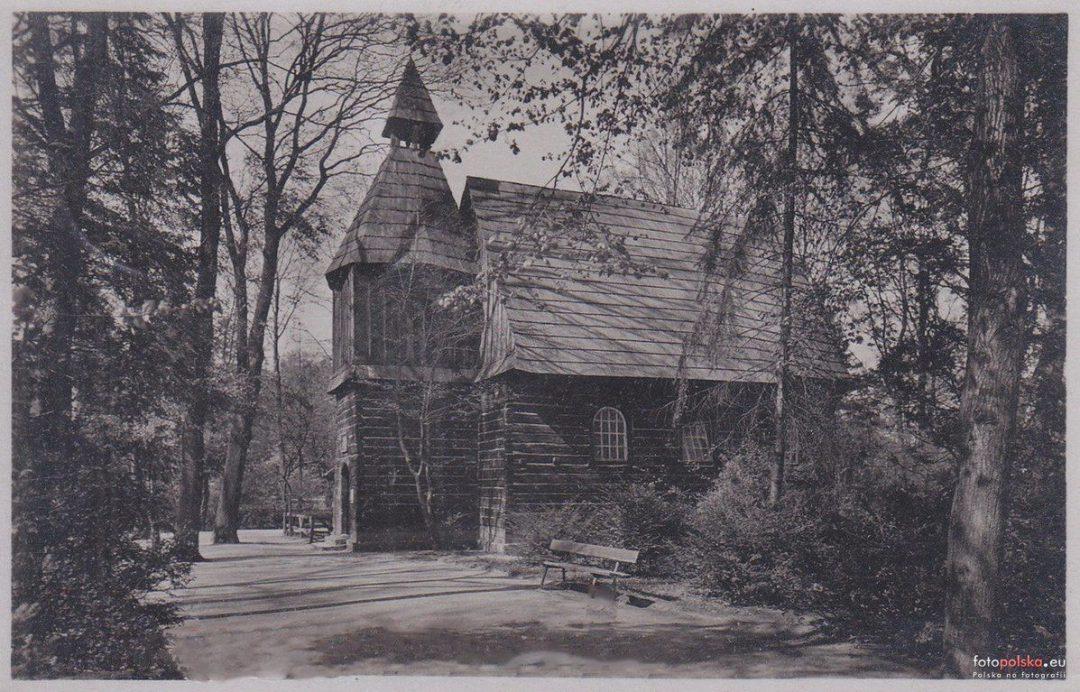 Kościółek w ok 1915 roku.