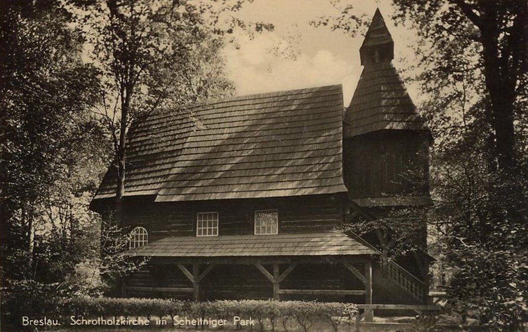 Kościółek w 1920 roku.