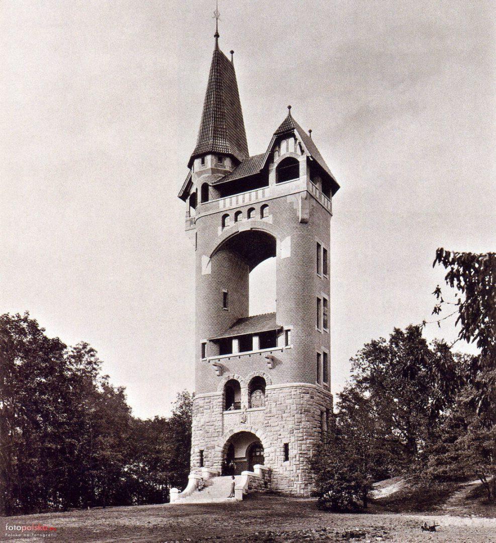 Wieża Widokowa Cesarza Wilhelma (nieistniejąca). – Miejsca we Wrocławiu.