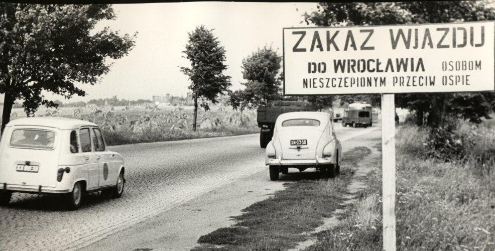Epidemia ospy w 1963 roku.