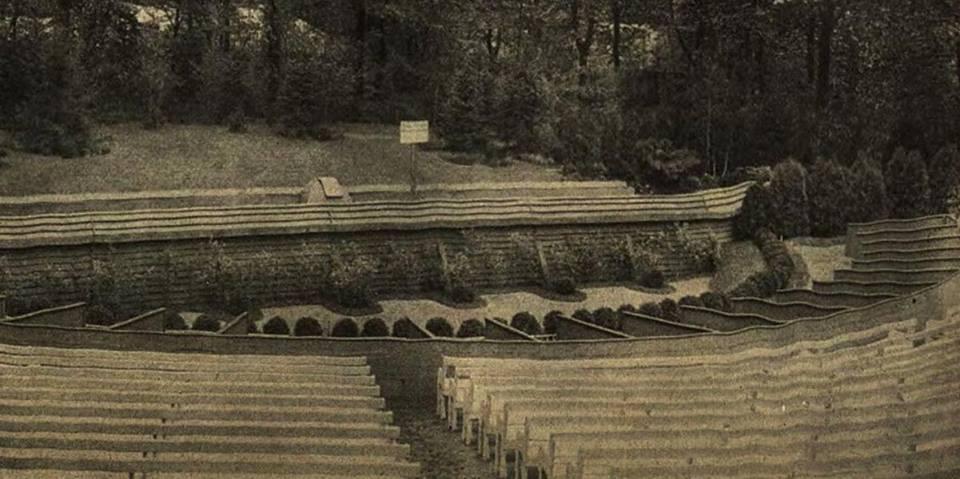 Dawny Amfiteatr (nieistniejący). – Miejsca we Wrocławiu.