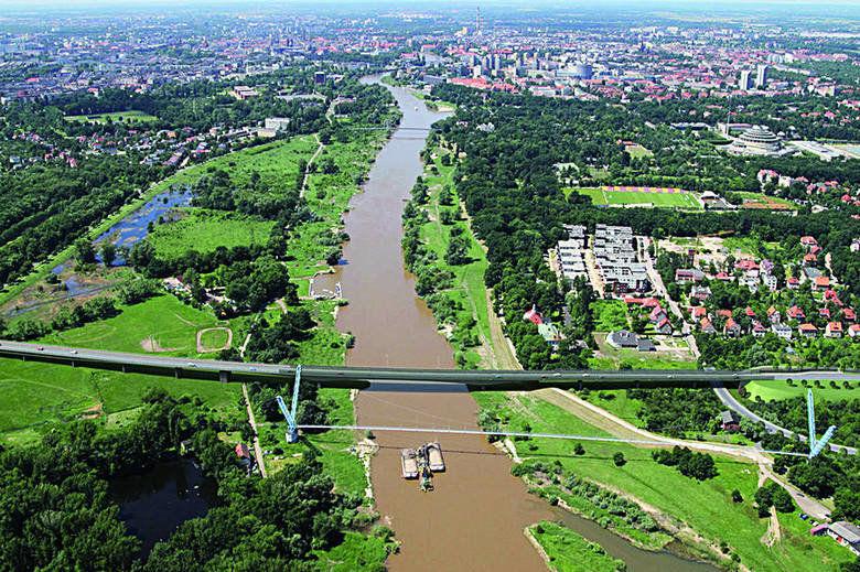 Wybudują Most Wschodni. – Miejsca we Wrocławiu.