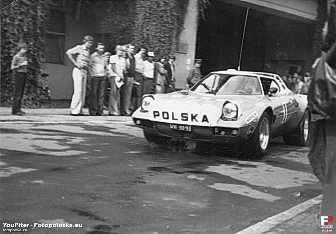 36 samochodowy rajd Polski w 1976 roku. – Miejsca we Wrocławiu.