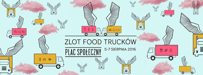 Zlot Food Trucków na placu Społecznym.