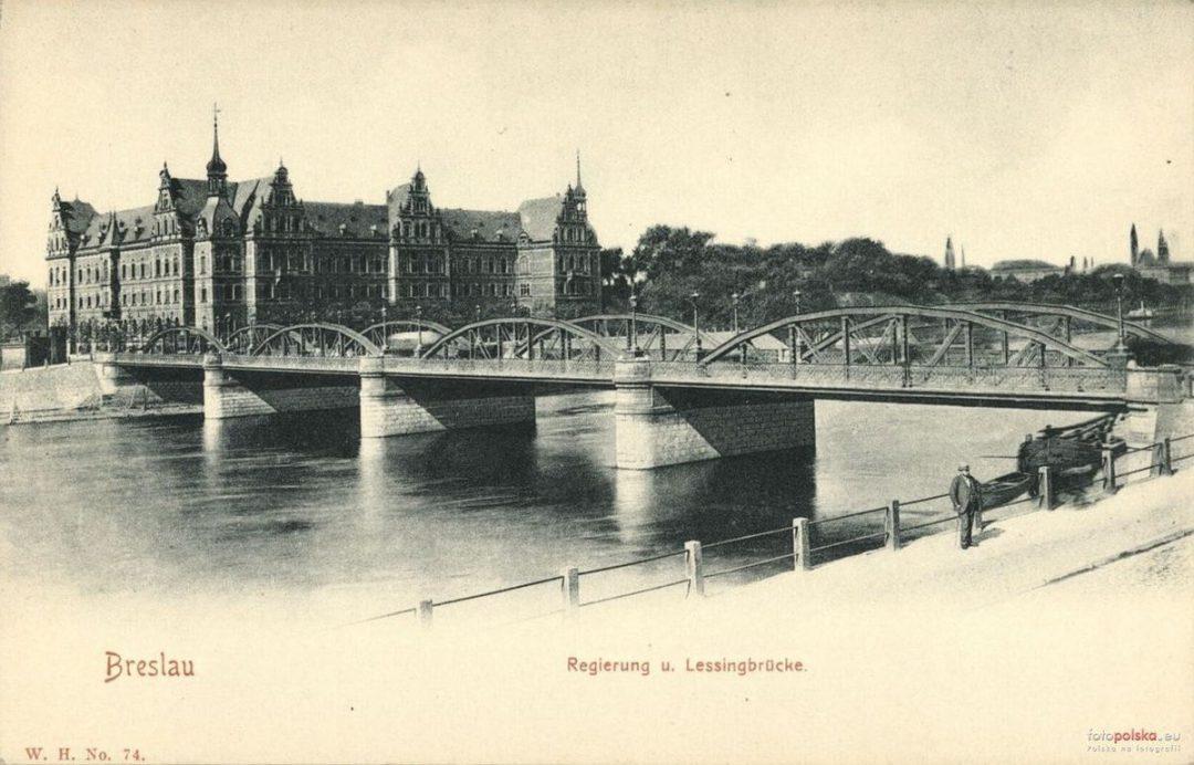 Jak wyglądał Most Pokoju 100 lat temu? [ZDJĘCIA] – Miejsca we Wrocławiu.