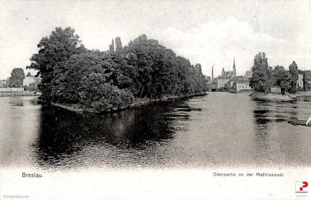 Jak wyglądała Wyspa Słodowa 100 lat temu? – Miejsca we Wrocławiu.