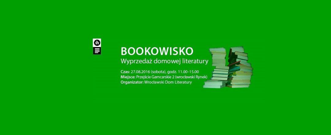 Bookowisko, czyli wyprzedaż domowej literatury. – Miejsca we Wrocławiu.