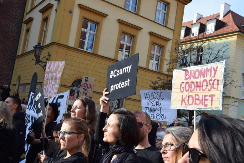 Czarny poniedziałek we Wrocławiu. – Miejsca we Wrocławiu.