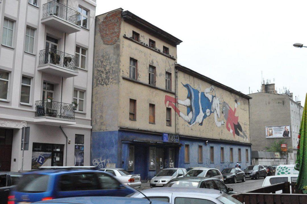 Dawne kino Polonia. – Miejsca we Wrocławiu.