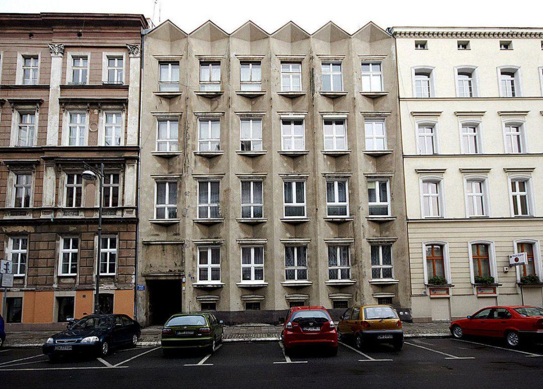 Bardzo oryginalna kamienica przy ul. Bałuckiego. – Miejsca we Wrocławiu.