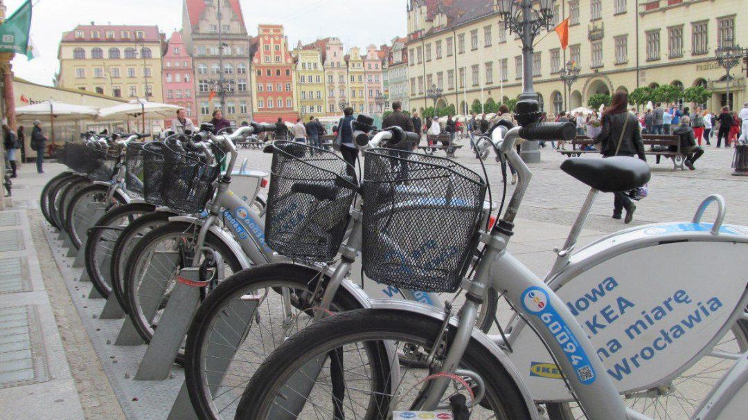 Wrocław sprzedaje rowery miejskie. – Miejsca we Wrocławiu.