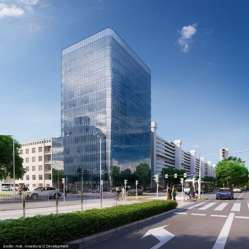 Naprzeciw Sky Tower powstanie wielki biurowiec [WIZUALIZACJE]. – Miejsca we Wrocławiu.