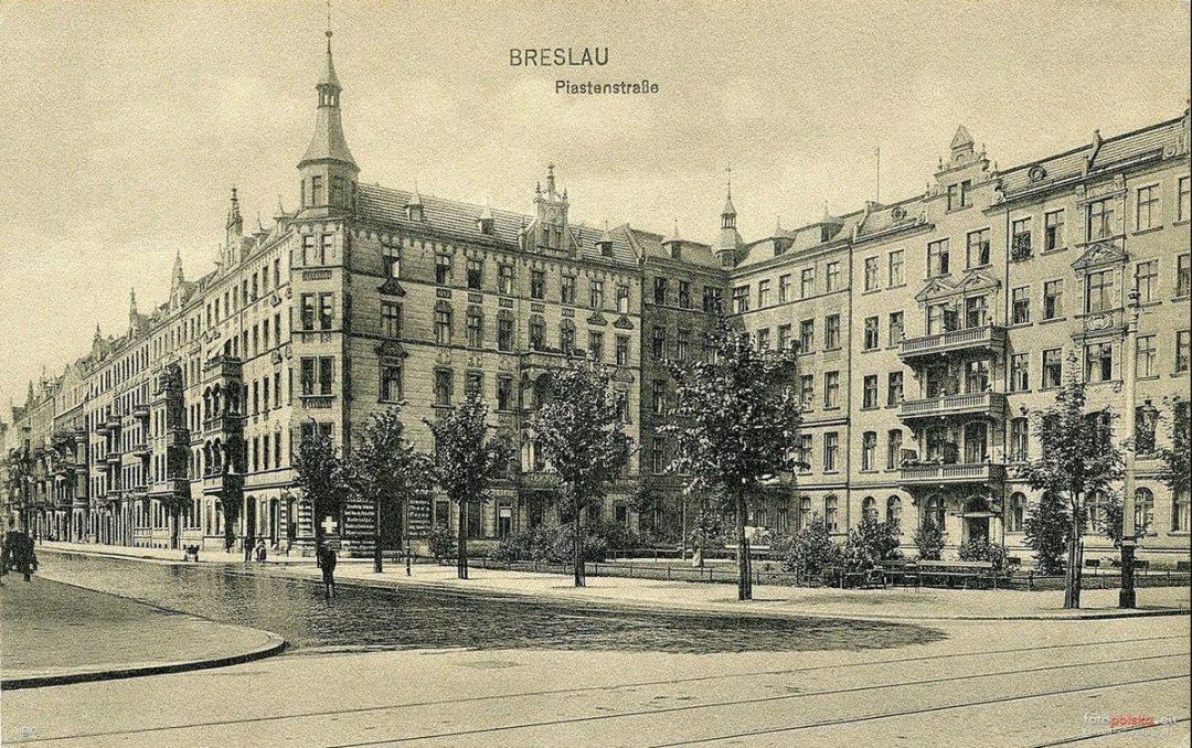 Jak wyglądała ul. Piastowska 100 lat temu? [ZDJĘCIA] – Miejsca we Wrocławiu.