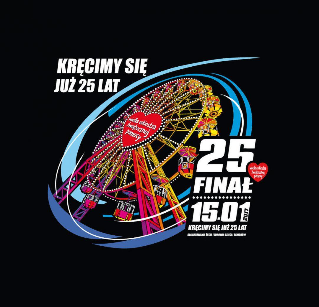 25 Finał Wielkiej Orkiestry Świątecznej Pomocy. – Miejsca we Wrocławiu.