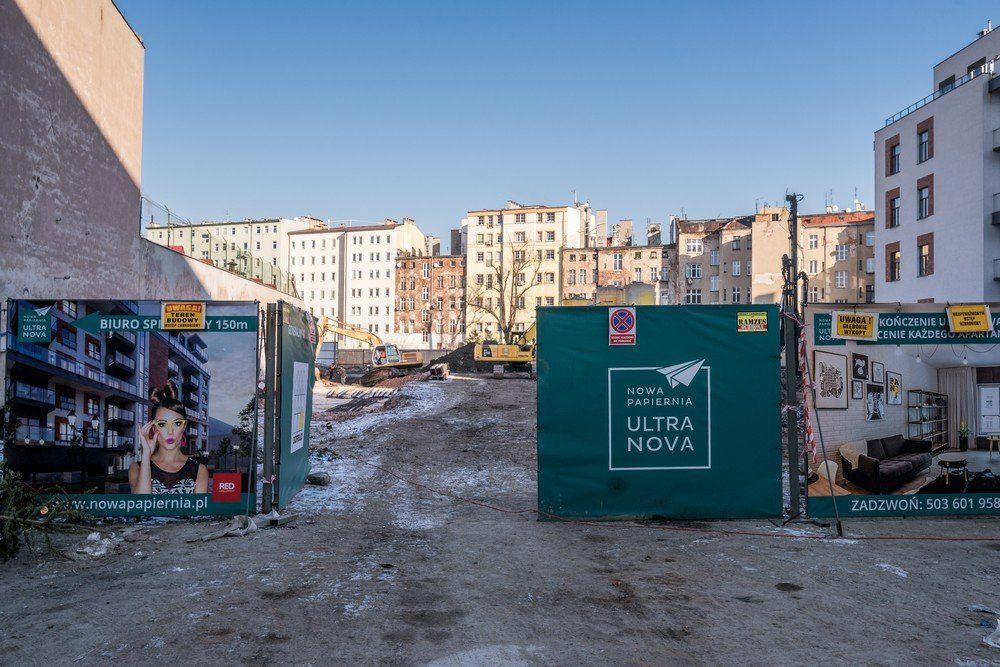 Ruszyła budowa kolejnego etapu Nowej Papierni. – Miejsca we Wrocławiu.