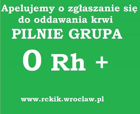 Centrum Krwiodawstwa i Krwiolecznictwa apeluje o zgłaszanie się do oddawania krwi! – Miejsca we Wrocławiu.
