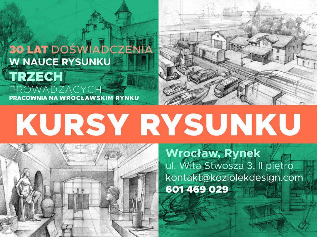 Ruszają zapisy do nowej grupy w Szkole Rysunku na Rynku [KONKURS]. – Miejsca we Wrocławiu.