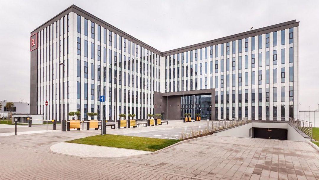 """Nowy, ekologiczny biurowiec """"Bielany Business Point"""". – Miejsca we Wrocławiu."""