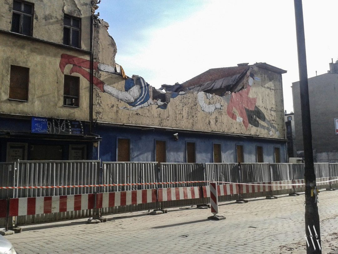 Wyburzyli dawne Kino Polonia. – Miejsca we Wrocławiu.