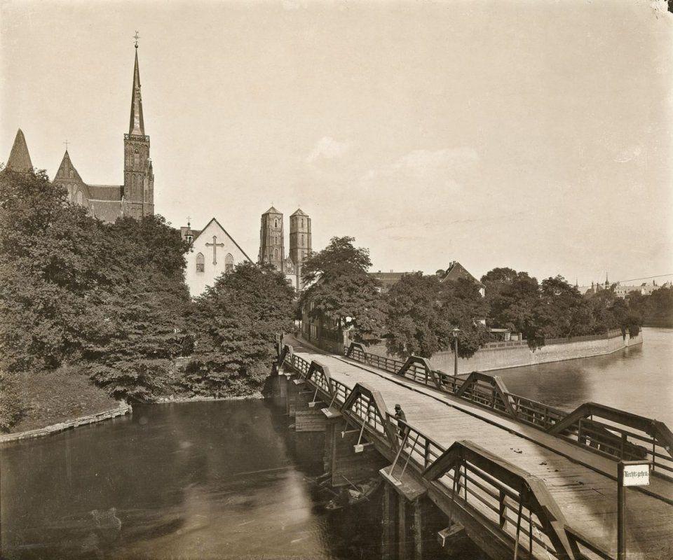 Jak wyglądał dawniej Most Tumski? – Miejsca we Wrocławiu.