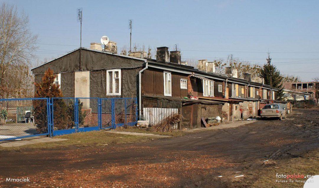 """Dawny obóz pracy przymusowej """"Burgweide""""."""