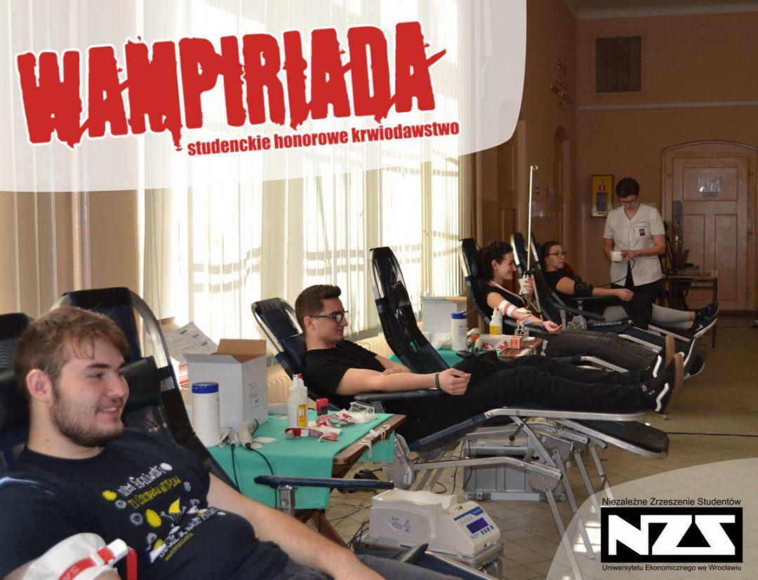 Kolejna edycja Wampiriady. Oddaj krew i uratuj komuś życie! – Miejsca we Wrocławiu.
