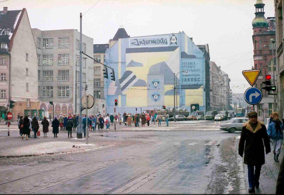 Dawne reklamy na Wrocławskich budynkach. – Miejsca we Wrocławiu.
