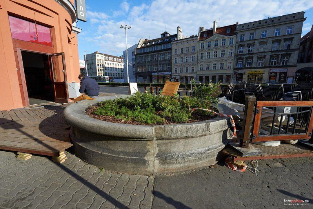 Dawna fontanna Germanii (nieistniejąca). – Miejsca we Wrocławiu.