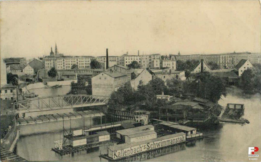 Dawne kąpielisko przy Wyspie Tamka. – Miejsca we Wrocławiu.