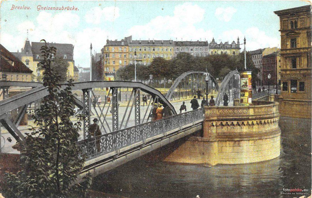 Jak wyglądały Wrocławskie mosty 100 lat temu?