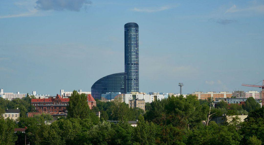 5 najwyższych budynków we Wrocławiu.