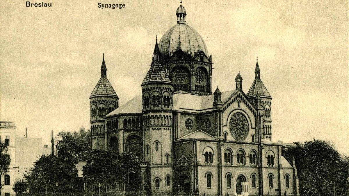 Nowa Synagoga – spalona z nienawiści. – MiejscaWeWroclawiu.pl