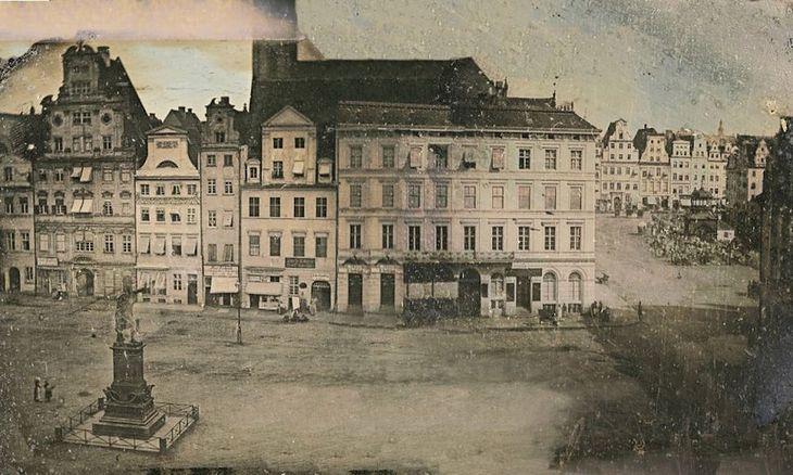 Najstarsze zdjęcie Rynku z 1975 roku.