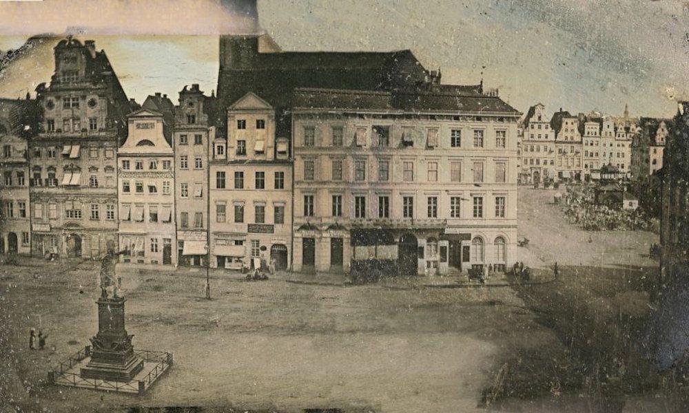 Najstarsze zdjęcie Wrocławia z ok 1839 roku. – MiejscaWeWroclawiu.pl