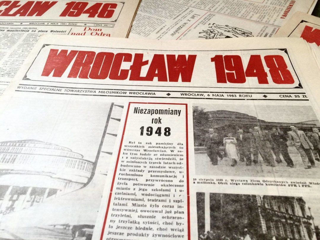 Wrocław w 1948 roku był największym miastem w Polsce [WROCŁAW 1948]. – MiejscaWeWroclawiu.pl