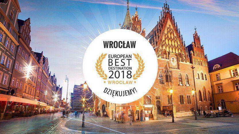 Wrocław najlepszym kierunkiem turystycznym w Europie! – MiejscaWeWroclawiu.pl