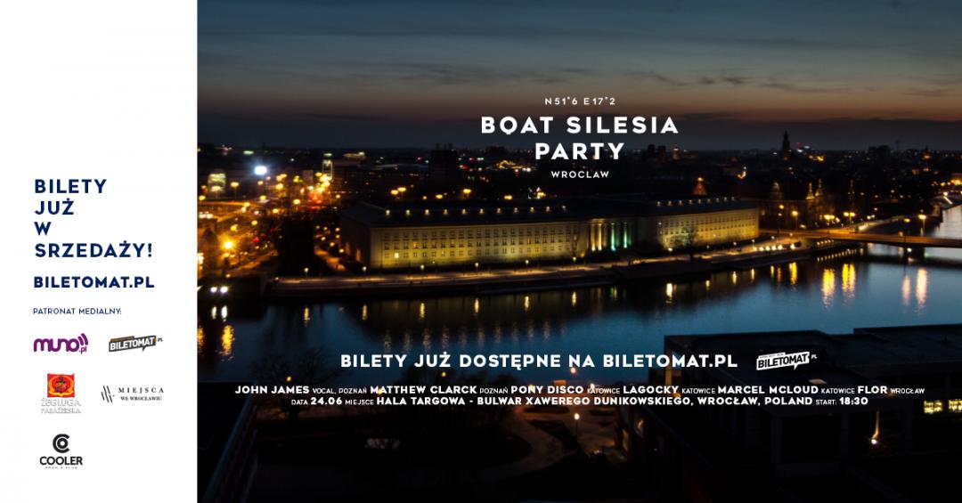 Boat Silesia Party – impreza na statku w klimatach house. – MiejscaWeWroclawiu.pl