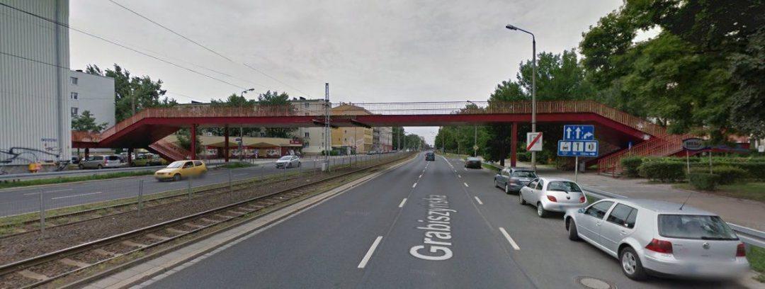 Zniknie kładka dla pieszych przy ul. Grabiszyńskiej. – MiejscaWeWroclawiu.pl