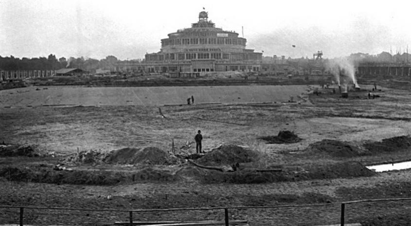Jak wyglądała budowa Hali Stulecia?