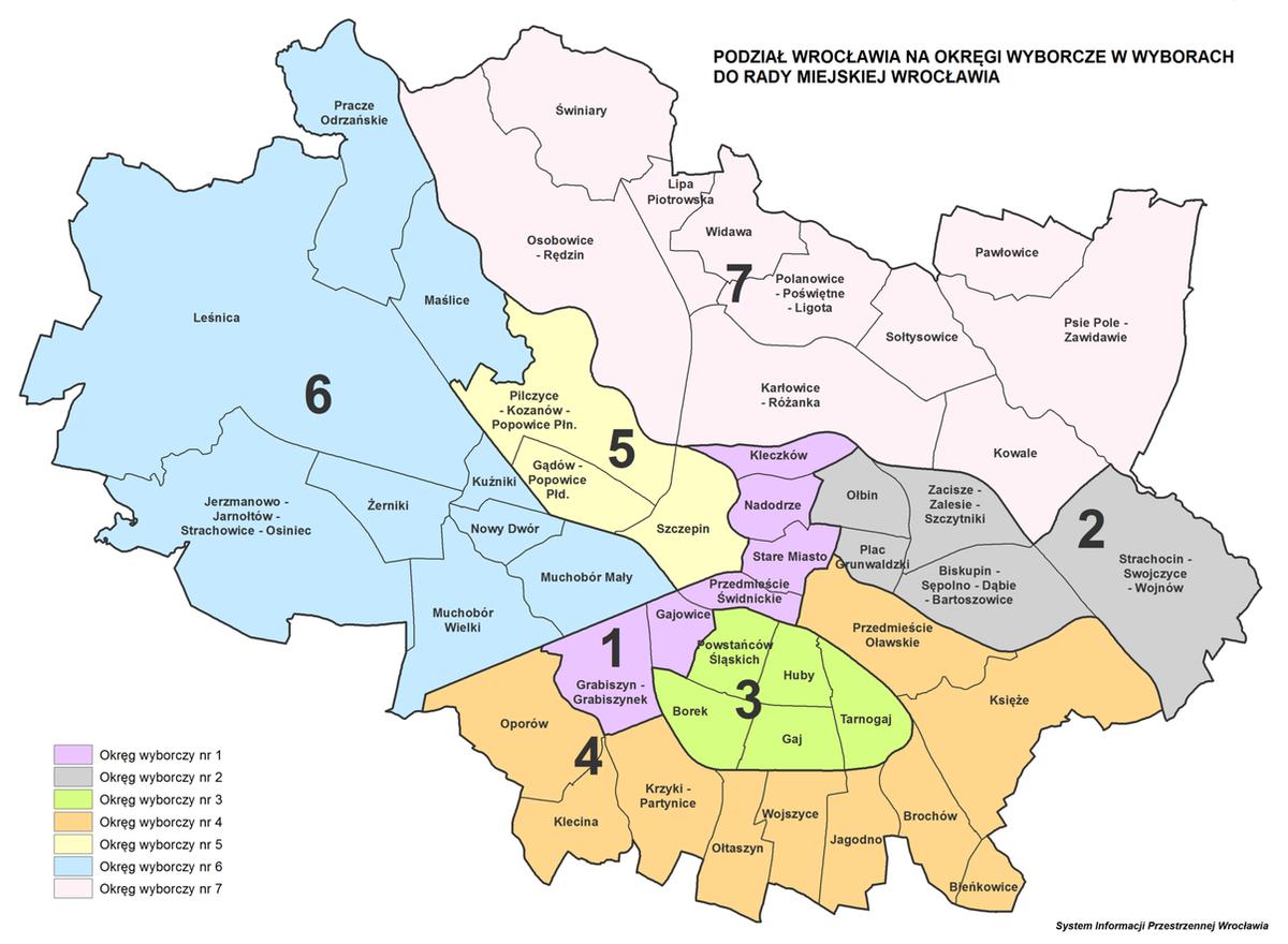 Gdzie głosować w wyborach do rady miejskiej Wrocławia? [WYSZUKIWARKA]