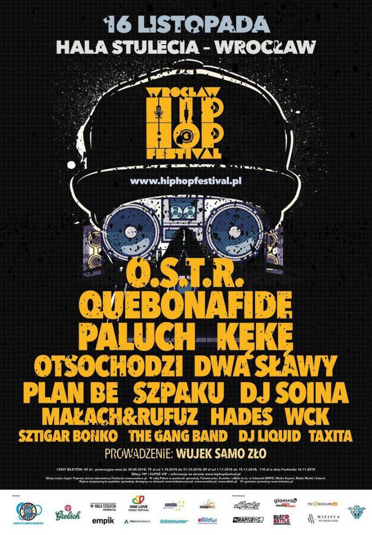 Wrocław Hip Hop Festival – znamy pełny skład. – MiejscaWeWroclawiu.pl