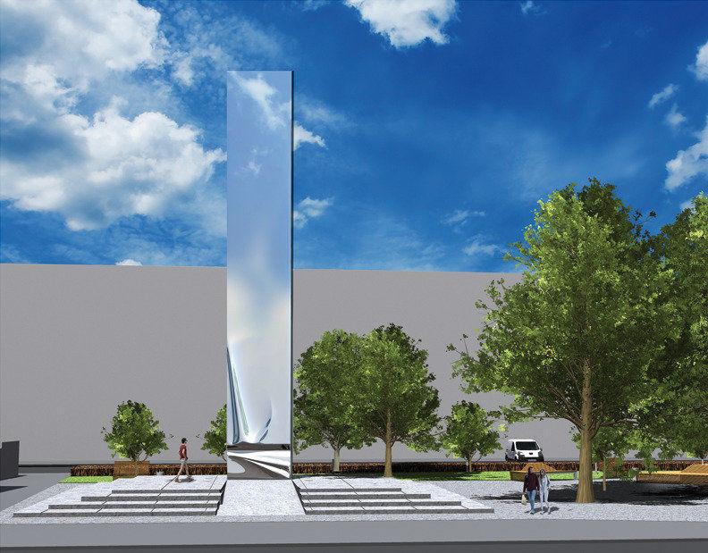 Tak będzie wyglądał pomnik za 2 mln złotych, który powstanie przy placu Legionów.