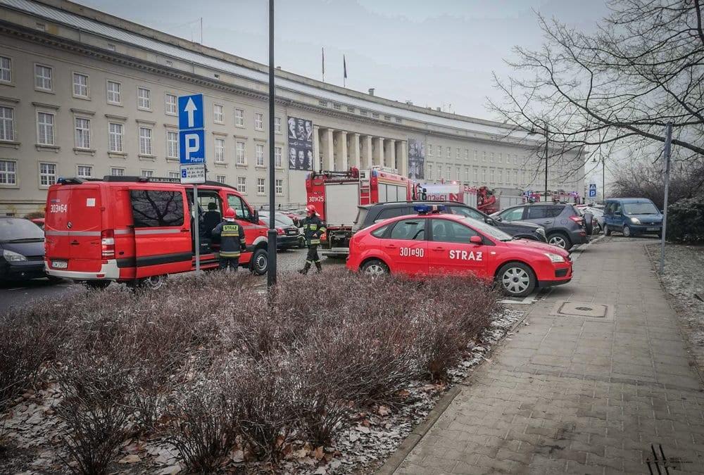 Ewakuacja pracowników Urzędu Wojewódzkiego – jest podejrzenie o podłożeniu bomby.