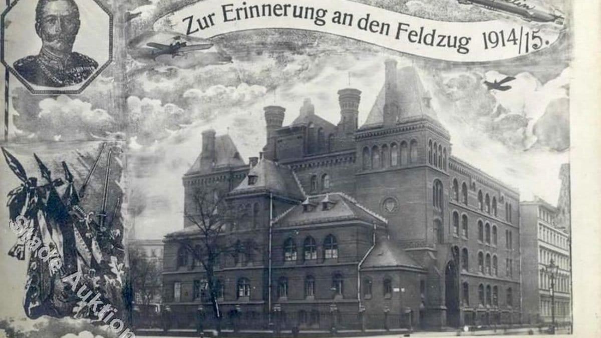 Ciekawostka architektoniczna w rejonie placu Grunwaldzkiego – Liceum nr XVI.