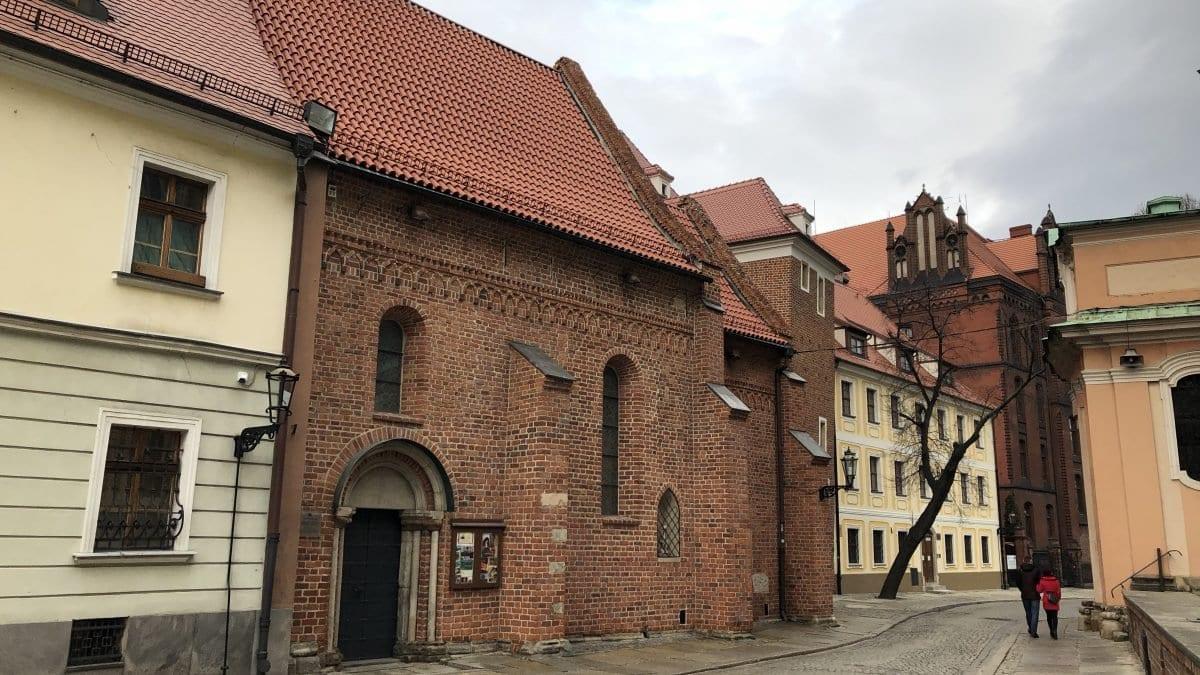 Najstarszy kościół we Wrocławiu – Kościół św. Idziego.